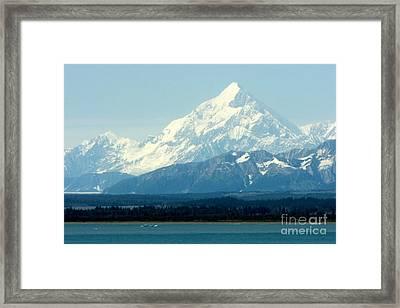 Mount St. Elias Framed Print