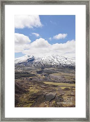 Mount St. Helens Framed Print by Birches Photography