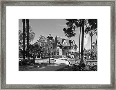 Mount St. Mary's University Doheny Mansion Framed Print