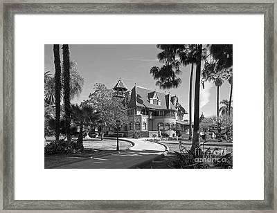 Mount St. Mary's University Doheny Mansion Framed Print by University Icons