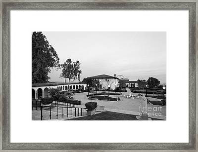 Mount St. Mary's University The Colonnade Framed Print