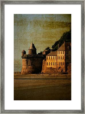 Mount St Michael's Tower Framed Print