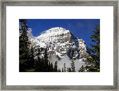 Mount Stephen Framed Print
