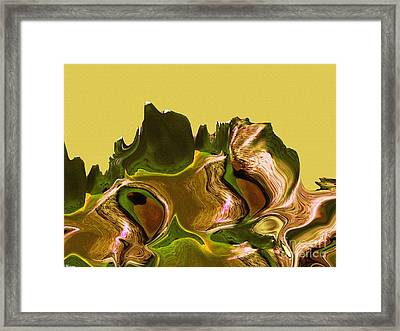 Mount Strength-day Framed Print by David Winson