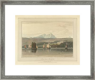 Mount Stuart On The Isle Of Bute Framed Print