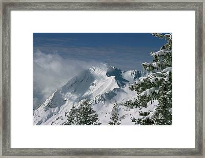 Mount Superior From Little Cottonwood Framed Print