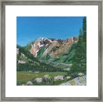 Mount Superior Framed Print