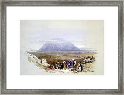 Mount Tabor Framed Print