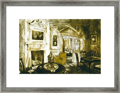 Mount Vernon Ambiance Framed Print by Kendall Kessler