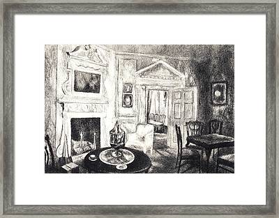 Mount Vernon Original Framed Print by Kendall Kessler