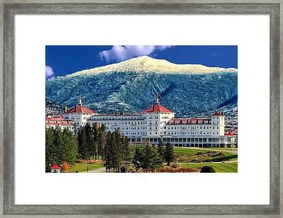 Mount Washington Hotel Framed Print by Tom Prendergast