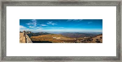 Mount Washington Observatory Framed Print by Andre Albert