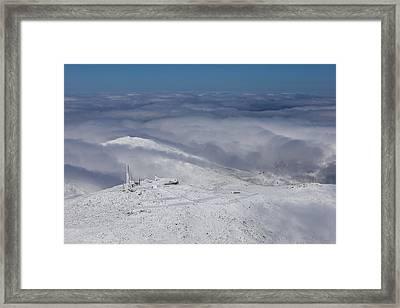 Mount Washington Observatory Framed Print