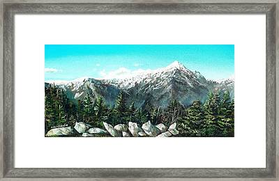 Mount Washington Framed Print
