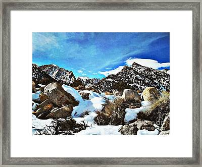 Mount Whitney Vista Framed Print