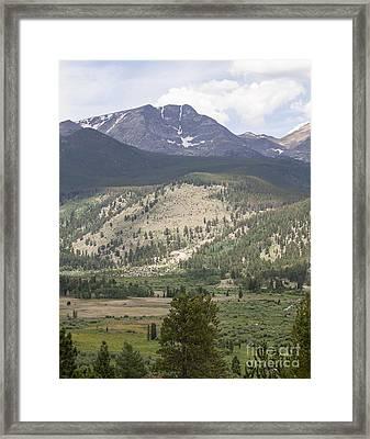 Mount Ypsilon Framed Print