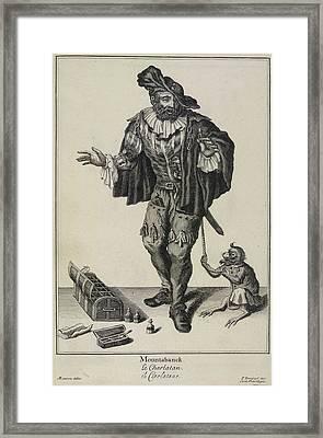 Mountabanck Framed Print by British Library