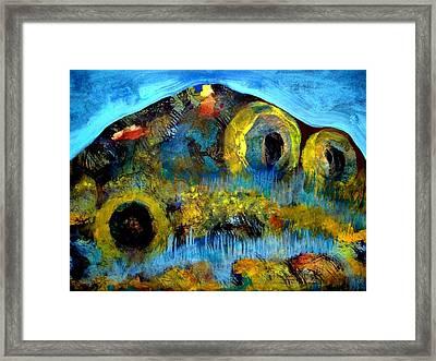 Mountain 121129-2 Framed Print by Aquira Kusume
