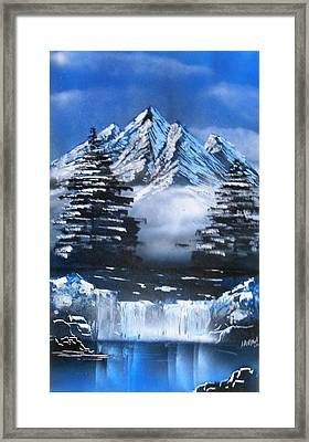 Mountain Air Framed Print by Aaron Beeston