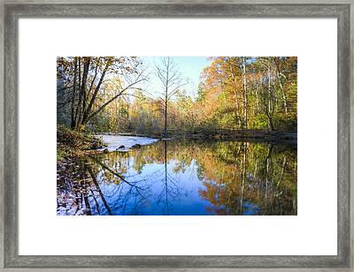Mountain Beauty Framed Print by Debra and Dave Vanderlaan