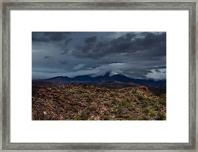 Mountain Blanket Framed Print by Bill Cantey