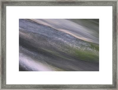 Mountain Cascade 1 Framed Print
