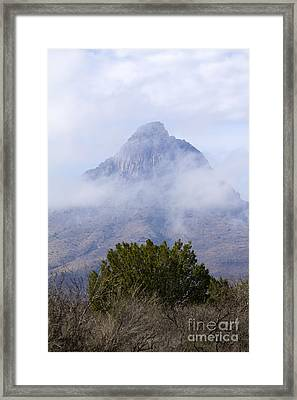 Mountain Cloaked Framed Print