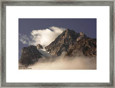 Mountain Clouds Framed Print