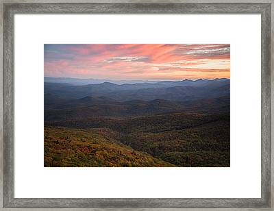 Mountain Color Framed Print by Serge Skiba