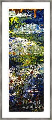 Mountain Creek Framed Print