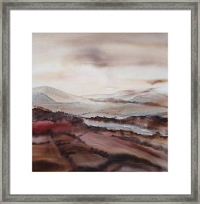 Mountain Dawn Framed Print