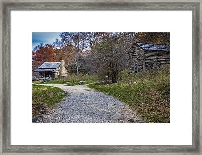 Mountain Farm Framed Print