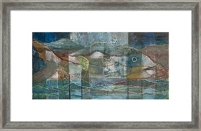 Mountain Fish Framed Print
