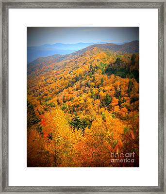 Mountain Glory Framed Print