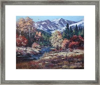 Mountain Glory Framed Print by W  Scott Fenton