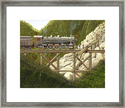 Mountain Impasse Framed Print