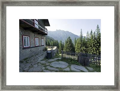 Mountain Framed Print by Ioan Panaite