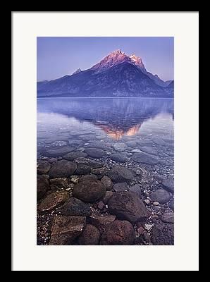 Teton Framed Prints
