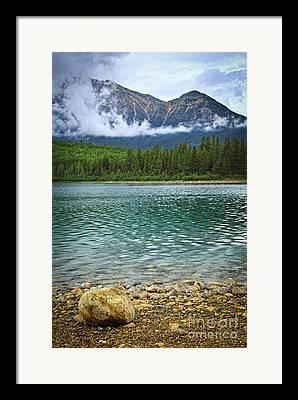 Patricia Lake Framed Prints
