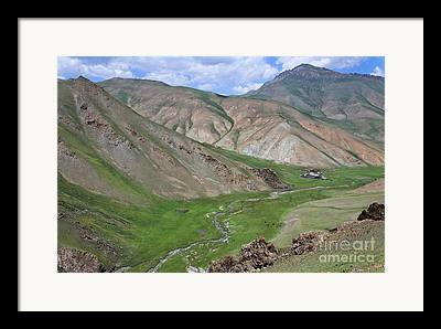At-bashy Mountain Range Framed Prints