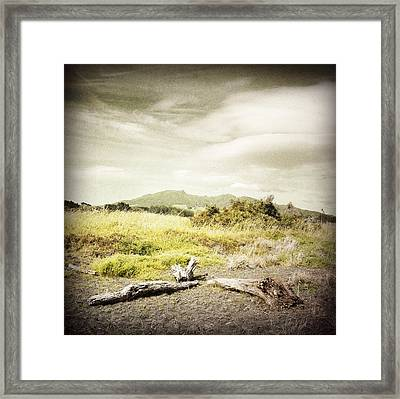 Mountain  Framed Print by Les Cunliffe