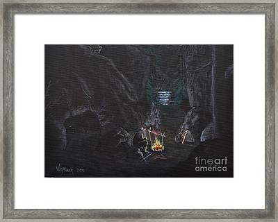 Mountain Man Framed Print