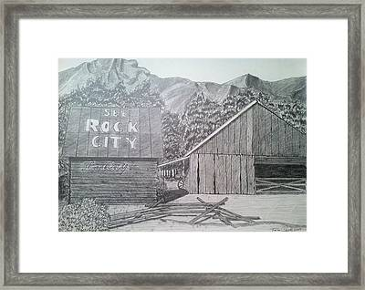 Mountain Memories Framed Print