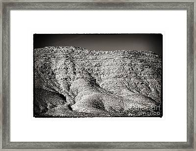Mountain Mounds Framed Print by John Rizzuto
