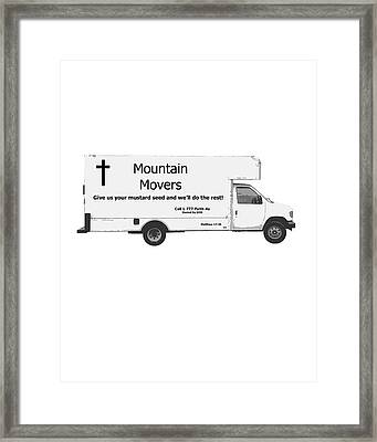 Mountain Movers Framed Print by Stephanie Grooms