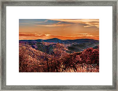 Mountain Of  Joy Framed Print