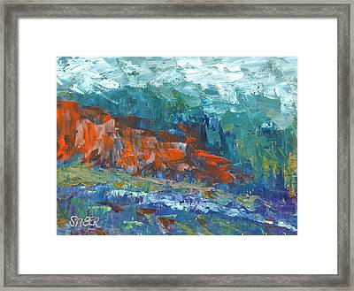 Mountain Of Memory Framed Print