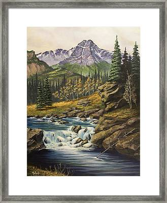 Mountain Of The Holy Cross Framed Print