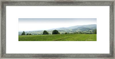 Mountain Panorama Framed Print