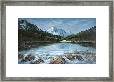 Mountain Paradise Framed Print